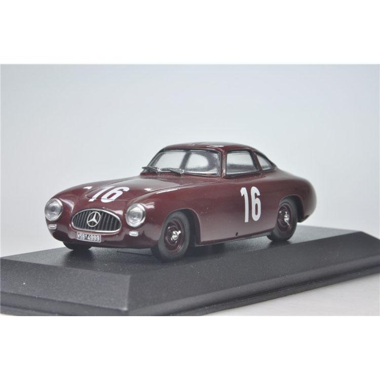 1:43 1952 GP Bern 300SL Mini cut Mercedes Benz Caracciola16 car(China (Mainland))