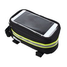 """3.5"""" to 5.7"""" Cycling Bicycle bags panniers Frame Front Tube Bag Cell Phone MTB Bike Touch Screen Bag For Iphone for Samsung S7(China (Mainland))"""