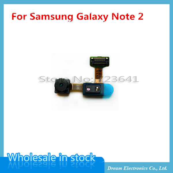 5 pcs/lot Original Brand New Front Camera For Samsung Galaxy Note 2 II N7100 N7105 i317 Small Camera Flex Free Shipping(China (Mainland))
