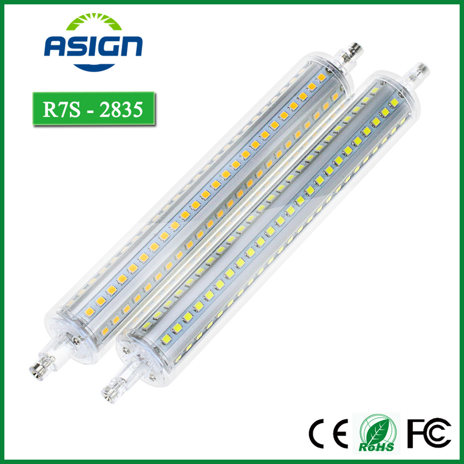 Good Seismic Performance R7S SMD2835 LED Bulb 78mm 118mm 135mm 189mm AC85-265V Corn Lamp Fluorescent Lamps(China (Mainland))