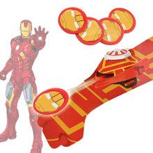 Superhero Avenger Luva Lançador Compatibie Legoingly Building Blocks Toy Kit Educacional DIY Crianças Presentes de Aniversário de Natal(China)