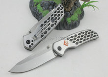 Envío gratis! alta calidad Chuangming 339 caza de la supervivencia cuchillos del cuchillo de bolsillo herramienta de camping herramientas rescate de la supervivencia cuchillos