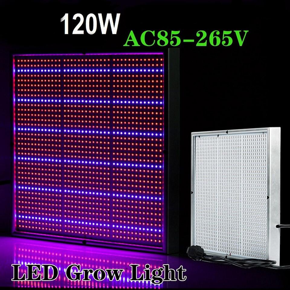 BEST New 120W 85-265V High Power LED Grow Light Lamp For Plants Vegs Aquarium Garden EU Plug Free Shipping<br><br>Aliexpress