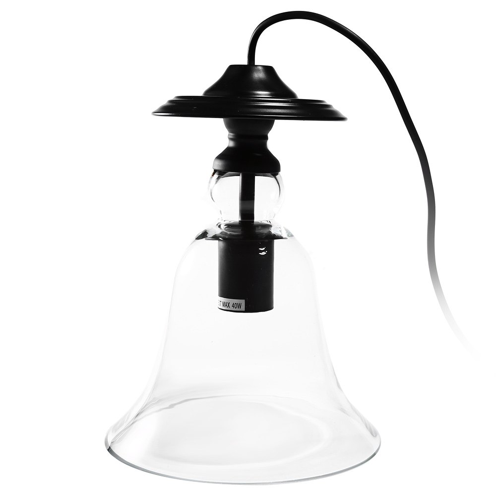 Glass Pendant Lights Lamp CY - DD - 036 Vintage Industrial Bell Glass Lamp Shade Retro Pendent Light Socket On Sale(China (Mainland))