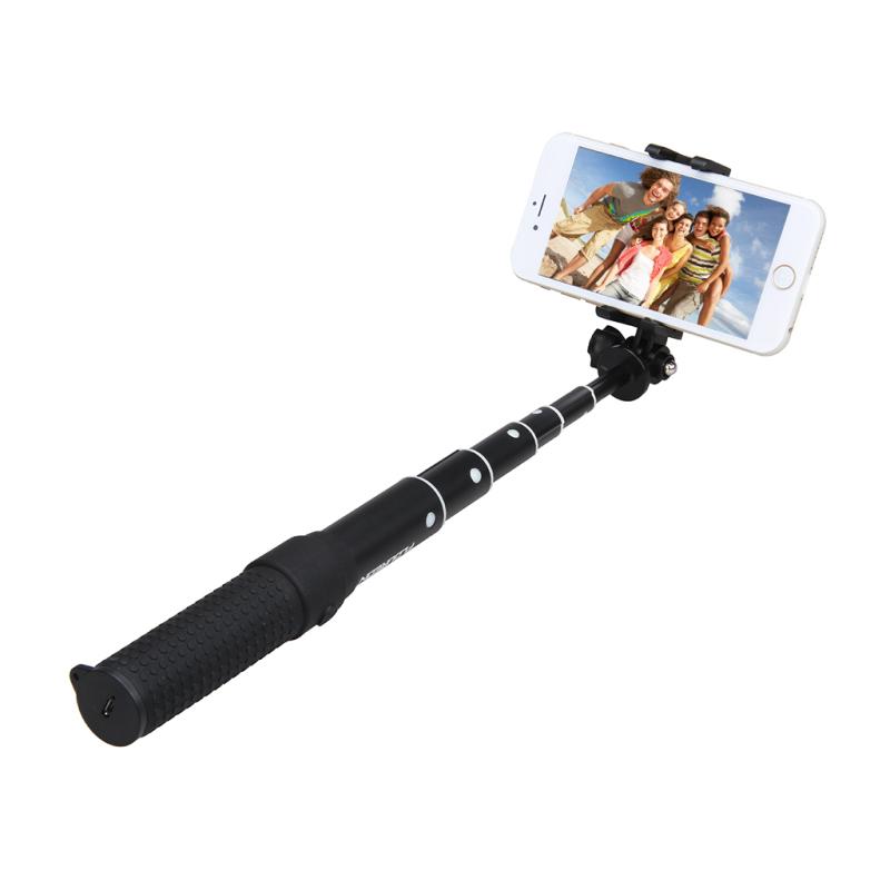 selfie stick bluetooth monopod foldable extendable handheld self portrait stick for smart phone. Black Bedroom Furniture Sets. Home Design Ideas