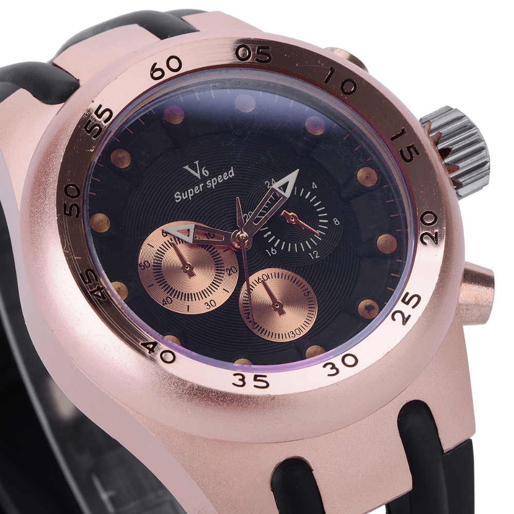 Latest V6-0200 luxury leisure mens watch, domineering fashionable man wrist watch, business quartz watch, watch brands<br><br>Aliexpress