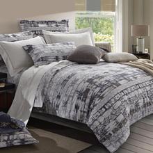 KINGART HomeTextile 100% cotton Rural Fashion   duvet cover bed line Men's fashion bedding set(China (Mainland))