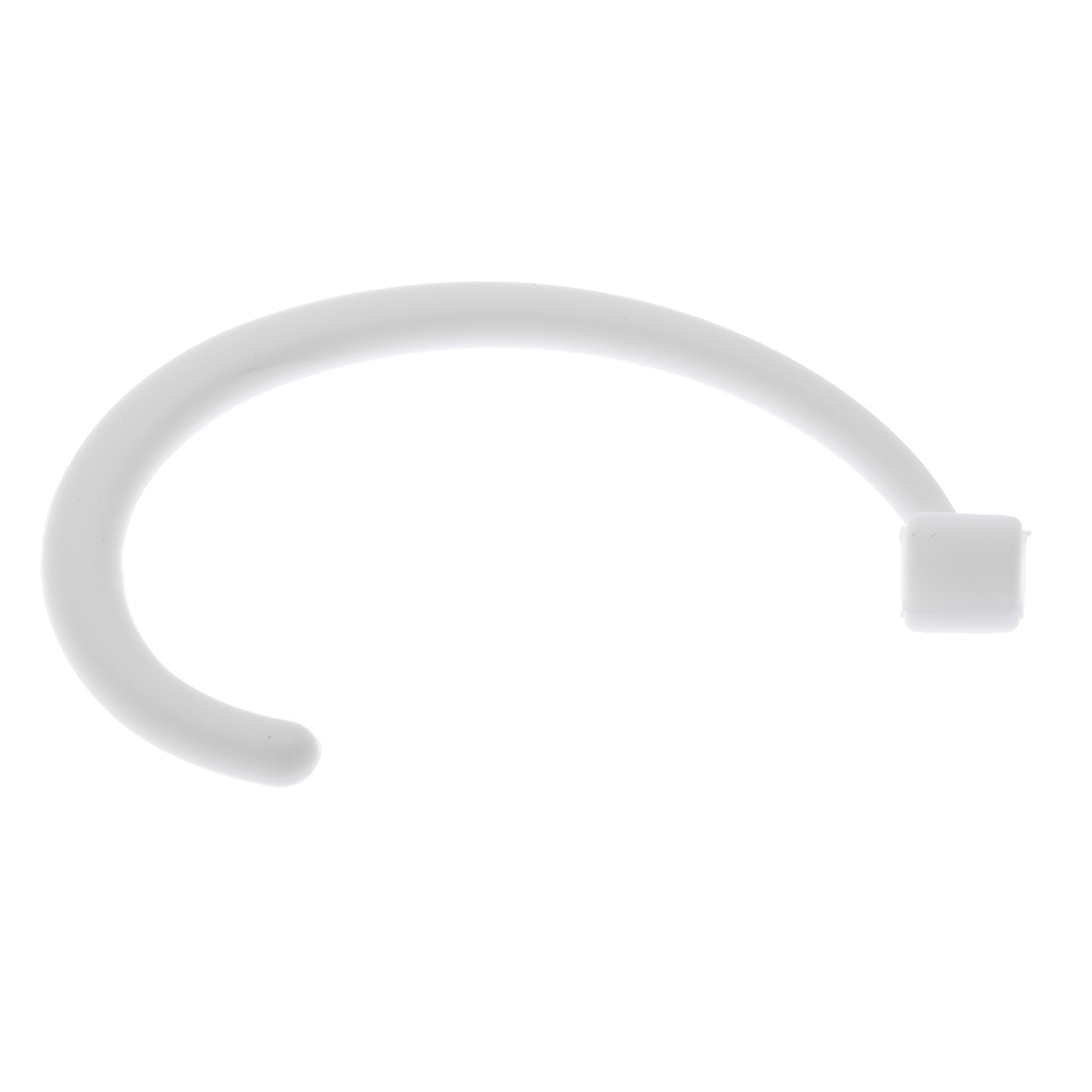 1 Pair Silicone Gel Anti-lost Ear Hook Hang Earloop Holder for Apple AirPods iPhone 7 7Plus 8 8Plus X Earpods Left and Right
