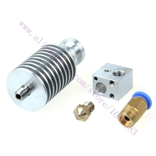 All metal long distance J head for 3D Printer bowden extruder 1 75mm 3mm Filament ABS