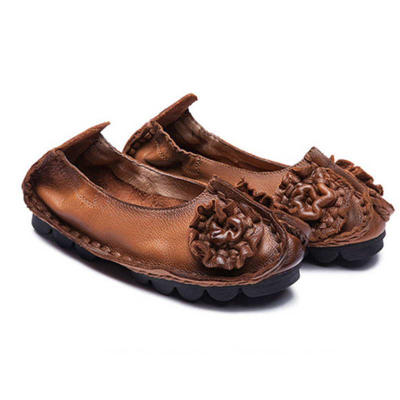 Здесь можно купить  2016 New Spring Genuine Leather Shoes Woman Fashion Flower Women Moccasins Loafers Casual Driving Shoes Women Flats Handmade 2016 New Spring Genuine Leather Shoes Woman Fashion Flower Women Moccasins Loafers Casual Driving Shoes Women Flats Handmade Обувь