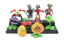Buy 10pcs/set Plants vs Zombies PVC Action Figures PVZ Resin material Collection Figures Toys Gifts 2.5-6.5cm Free for $9.72 in AliExpress store