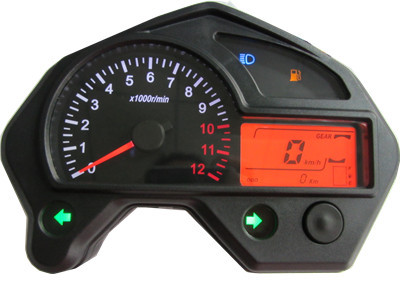 H19 motorcycle instrument lcd table motorcycle refires instrument millwrights assembly motorcycle lcd instrument(China (Mainland))