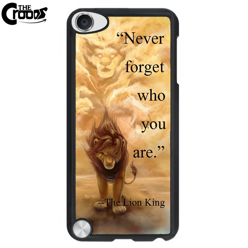 """The Lion King """"Never forget who you are """"Hard phone cases cover for meizu MX4 MX6 pro M1 M2 M3 note plastic Phone Accessories"""