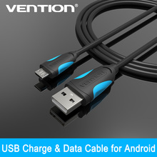 Vention USB cable 1.5M Micro USB Cable 2.0 Data Sync Charger Cable For Samsung galaxy S4 S3 HTC Smart Phone