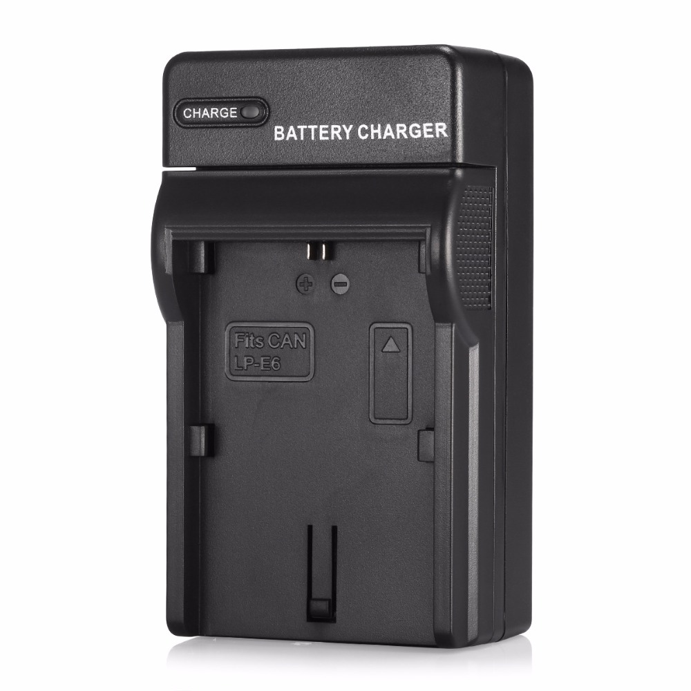 LP-E6 Rechargeable Battery Charger for Canon camera for EOS 6D 60D 7D 70D 5D Mark II III DSLR for Canon Accessories(China (Mainland))