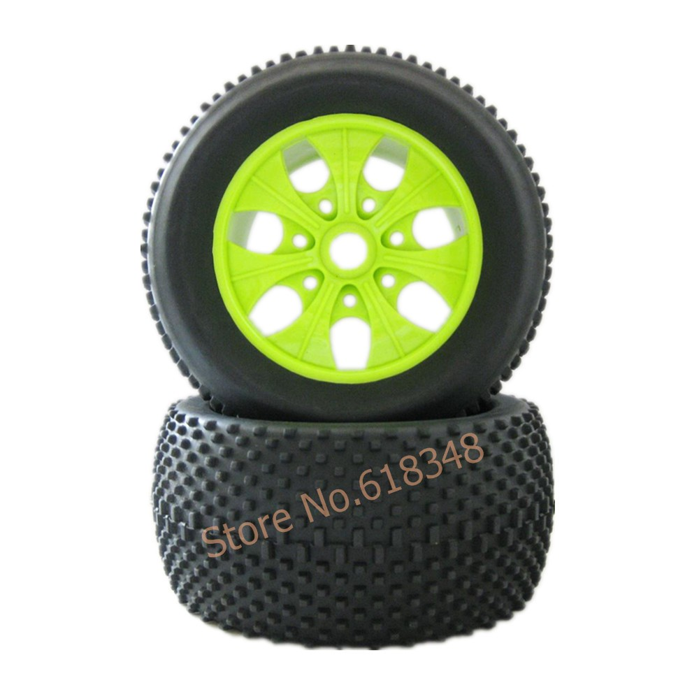 4Pcs/lot RC Rubber Sponge Type Diameter:140mm & Hexagon adapter:17mm For RC 1:8 HSP Baja Tyranno Off Road Monster Truck