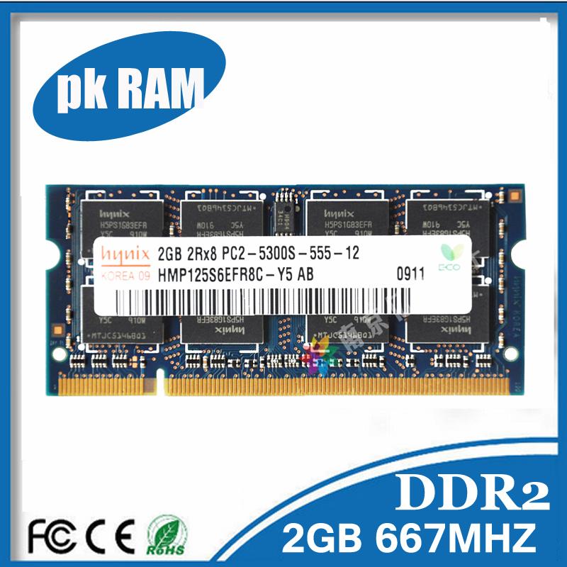 Гаджет  Hynix 2GB PC2-5300S DDR2 667Mhz 200pin DDR2 Laptop Memory 1G pc2 5300 667 Notebook Module SODIMM RAM Free Shipping None Компьютер & сеть