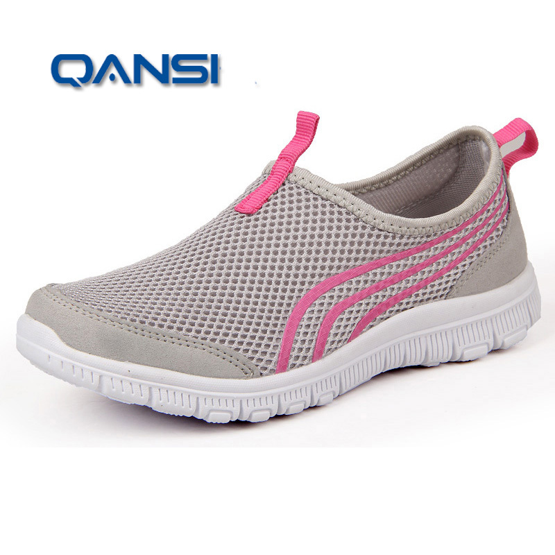 2015 New Men Running Shoes For Women Female Zapatillas Ultralight Walking Outdoor Sport Athletic Shoes(China (Mainland))