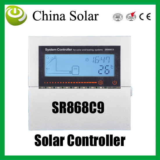 Split and pressurized solar heating system Controller,SR868C9,Solar Auxiliary heating system control(China (Mainland))