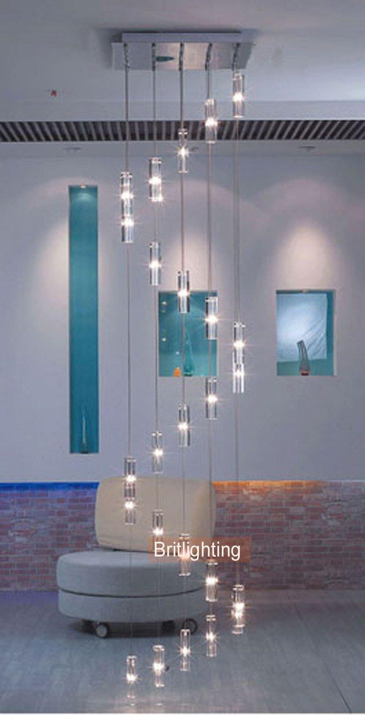 Corridoio cucina moderna illuminazione stairway lampadari ikea moderna scala lampadario led     -> Lampadari Cucina Moderna Ikea