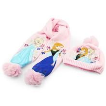 Шарф, шляпа & перчатка наборы  от HangZhou HTY store для Девочки, материал Хлопок артикул 32240755160