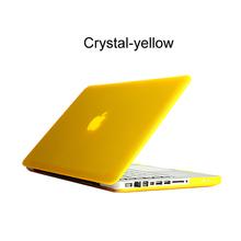 Crystal/Matte Hard Surface Full Protective Fundas Capa Laptop Cover Case for Macbook Air 11 13 Pro 13 15 Pro Retina 12(China (Mainland))