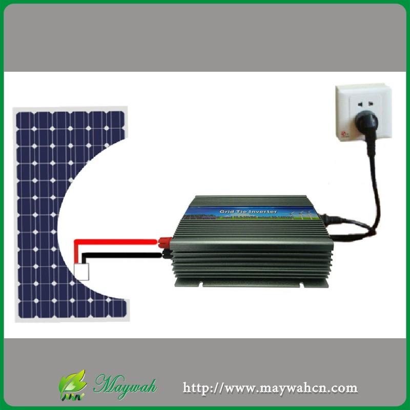 500W Solar Grid Tie mini inverter As APS Micro Inverter,10.5-28VDC,180-260VAC,50Hz/60Hz, For Vmp17V Panels(China (Mainland))