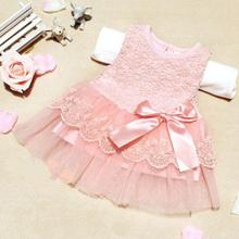 2015 Summer Cotton Baby Aestheticism Fairy Tale Petals Colorful Dress Chiffon Princess Newborn Baby Dresses(China (Mainland))