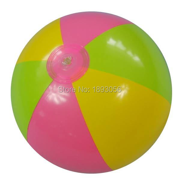 Outdoor Fun & Sports Water Play Toy Balls Baby Gift Swimming Pool Floating Bath Toy 16inch 3 colors PVC Inflatable Beach Ball(China (Mainland))