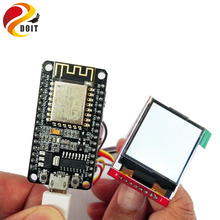 Original DOIT ESP8266 Development Kit including Nodemcu + 1.44 inch TFT Display Screen Spi Colorful LED Image iot Temperature(China (Mainland))