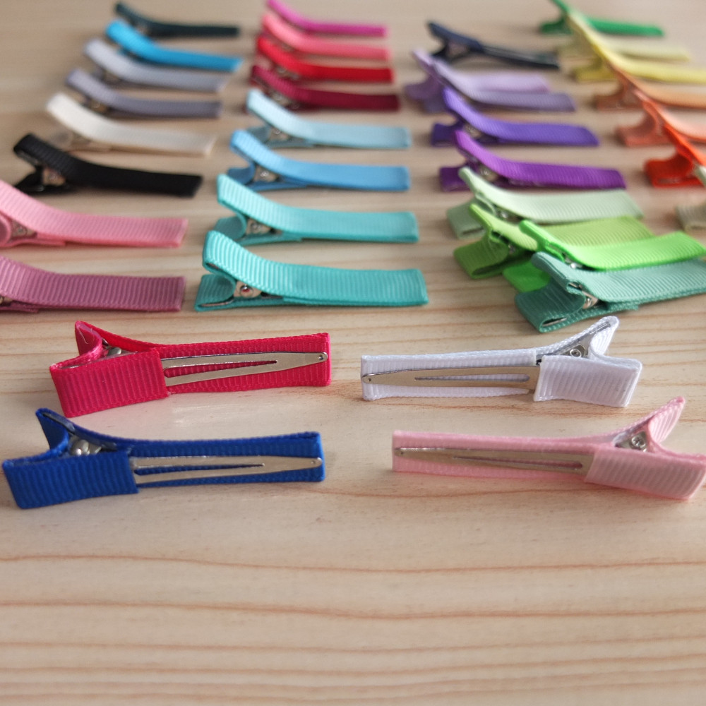 "Wholesale Hair Clips Supplier 1.75"" Alligator Clip Hair barrettes Hairpins DIY for Hair bow Baby Clips Hair accessories 200 pcs"