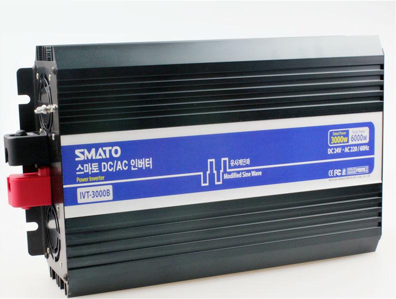 IVT-3000B Best Quality Off Grid Solar Inverter 3KW DC 24V to AC 220V Inverter 3000W Power Inverter Modified Sine Wave Form(China (Mainland))