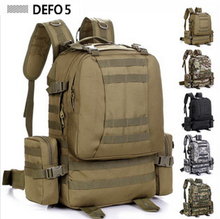 50L Outdoor Travel Military Tactical Backpack Molle System Bag Life Saver Bug Out Bag Army Survival