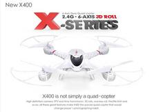 2015 New Version MJX R/C X400-V2 C4005 WiFi Real Time Video 2.4G 4ch 6 Axis with 0.3MP Wide Angle FPV Camera RC Quadcopter RTF