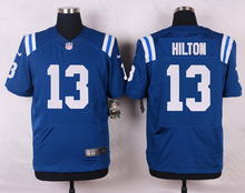 2016 Men Indianapolis Colts #12 Andrew Luck #13 T Y Hilton, Blue Black White 100% stitched logo, free shipping,camouflage(China (Mainland))