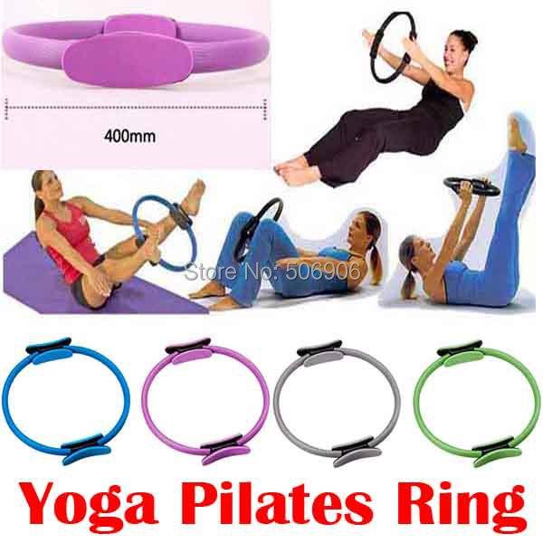 NEW Pilate Ring PILATES MAGIC Fitness Circle Yoga Ring breast enlargement beauty care thin waist shaping 3 color Free Shipping(China (Mainland))