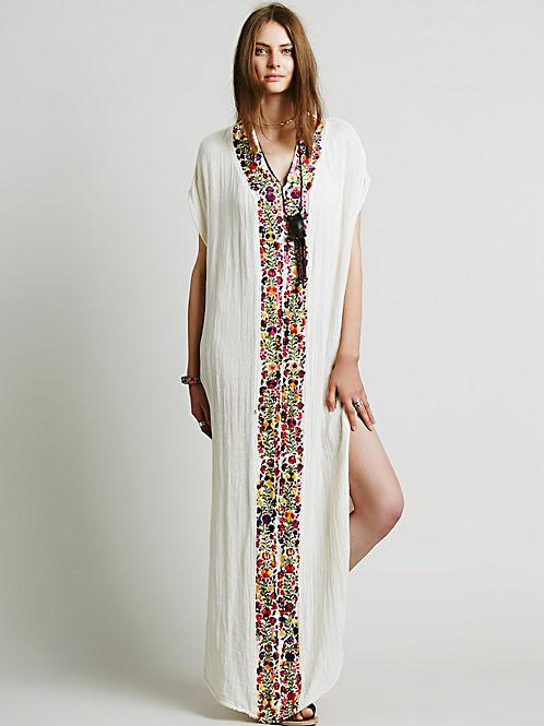 Long dress ethnic tunics