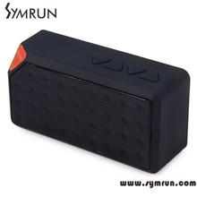 Symrun X3 Wireless Mini Bluetooth V2.1 Speaker Portable Speaker For Mobile-Phone And Tf bluetooth speaker 2016 fm
