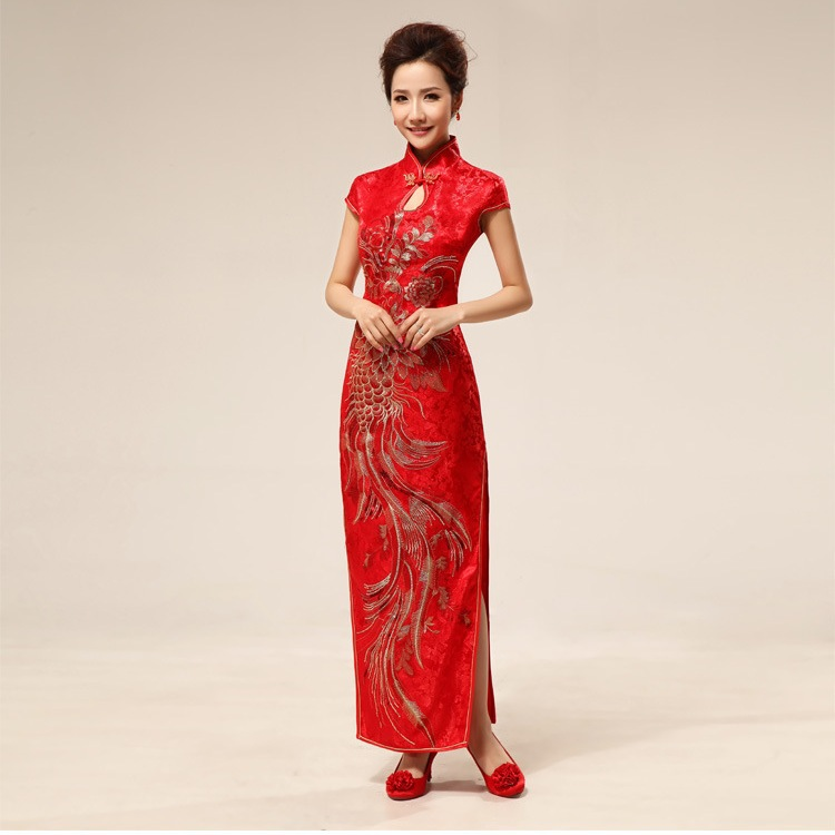 Free Shipping Vestidos Chinese Traditional Clothing