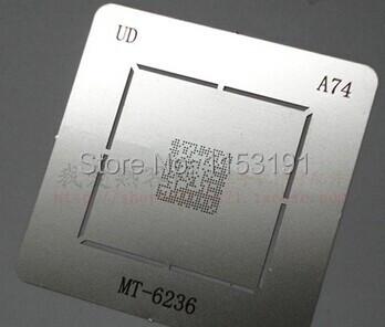 2pcs/lot BGA reballing reball stencil for MTK CPU MT6236A MT6236(China (Mainland))