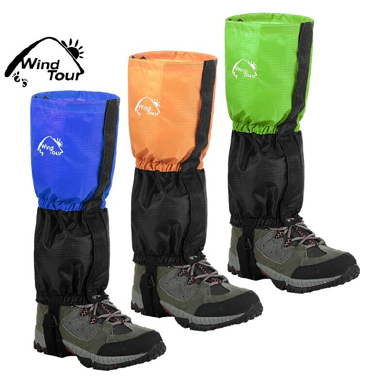 unisex outdoor waterproof breathable lightweight protective snow cover Socks 3colcor shoe cover ski mountaineering free shpping(China (Mainland))