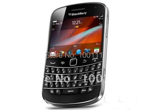 100% Original  blackberry 9900 QWERTY+touch 2.8inch,WiFi,GPS,5.0MP camera ,free shinpping