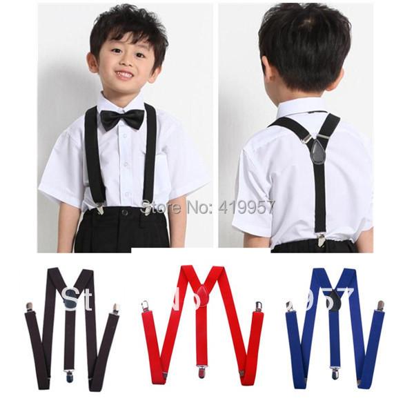 BD003-- New fashion 26 colors Baby suspenders adjustable elastic kids boys girls best gift - Sister7983(Min Order $5 store)
