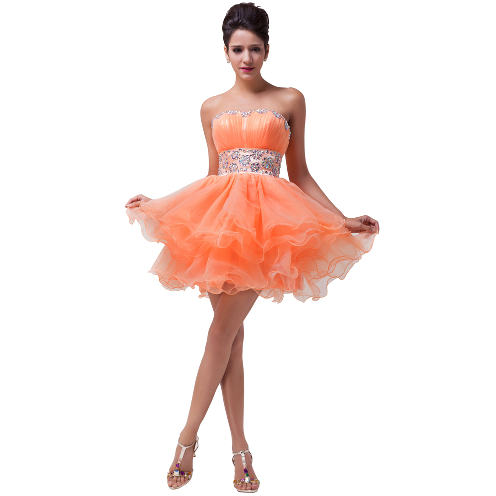 Cute Short Prom Dresses Cheap Price 113