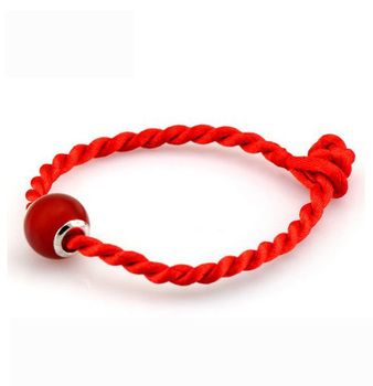 Hot Luck Bracelets With Opal Pendant Red String Bracelet Knitted String Bracelet YH2020