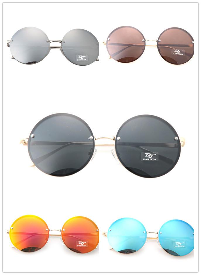 Round Mirror UV Protection Multi Sunglasses Women/Men/Boys/Girls Summer Style Beach/Outdoor/Party Fashion Eyewear Accessories(China (Mainland))