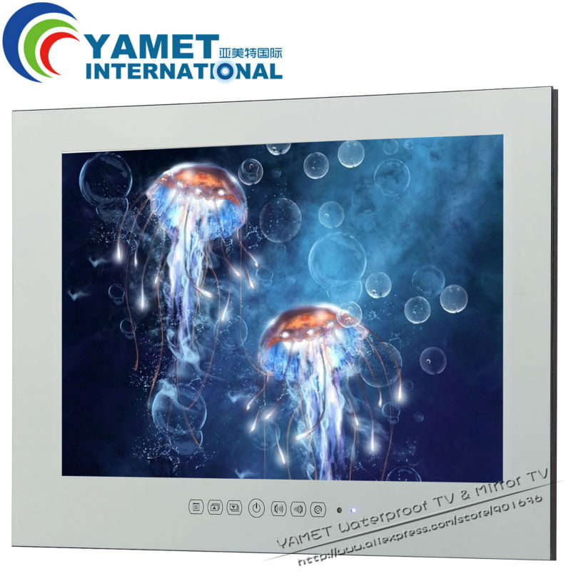 22 Inch Bathroom Tv Waterproof Led Tv Mirror Bathroom Tv China Mainland