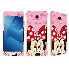 Buy 9H 0.25 HD Front Tempered Glass screen protector Meizu M3S Mini M3S Kitty Minnie Skull Bling Glitter Sticker film back case for $3.75 in AliExpress store