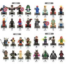 10set X0106+X0108+X0109+X0114 building Blocks Super Hero Minifigure Children Bricks Toys Mini Figure(China (Mainland))