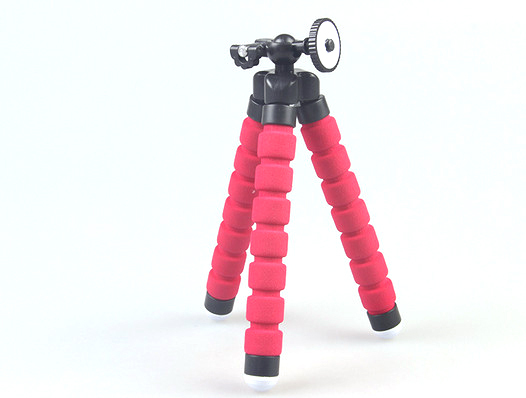 flexible camera tripod Flexible Leg Mini Tripod for Gopro Digital Camera and phone gopro mount adapter